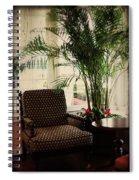 Victorian Reading Corner Spiral Notebook
