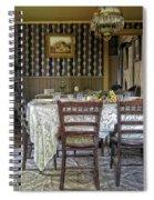 Victorian Sedman Home Dining Room - Nevada City Montana Spiral Notebook