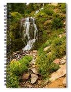 Vidae Falls Landscape Spiral Notebook