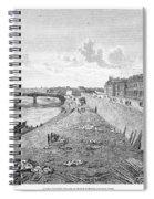 Vienna: Danube, 1821 Spiral Notebook