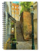 Viennese Side Street Spiral Notebook