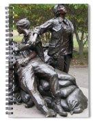 Vietnam Women's Memorial Spiral Notebook