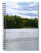 View Across The River Spiral Notebook