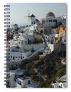 View At Iao Greece Spiral Notebook