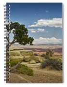 View From A Mesa Spiral Notebook