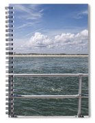 View From Across The Bay Spiral Notebook