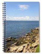 View From Bass Harbor Light Spiral Notebook