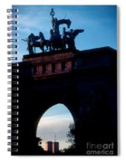 View From Brooklyns Grand Army Plaza Spiral Notebook