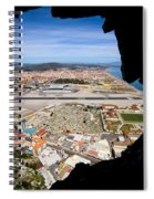 View From Inside Of The Gibraltar Rock Spiral Notebook