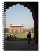 View From Inside The Red Fort With Tourist Spiral Notebook