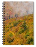 View From North Mountain Look-off Spiral Notebook