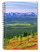 View From Ogilvie Ridge Lookout Spiral Notebook