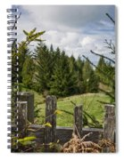 View From Picket Fence Spiral Notebook