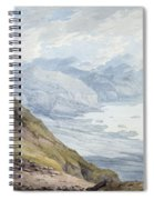 View From Skiddaw Over Derwentwater  Spiral Notebook