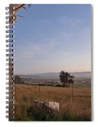 View From Table Bluff Spiral Notebook