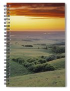 View From The Cypress Hills Spiral Notebook