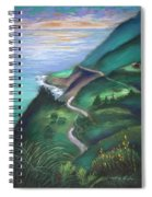 View From The Hermitage Spiral Notebook