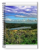 View From The Hilltop 2 Spiral Notebook