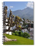 View From The Parador Nerja Spiral Notebook