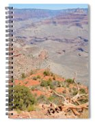 View From The South Kaibab Trail II Spiral Notebook
