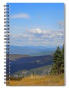View From Top Of Cannon Mountain Spiral Notebook