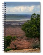 View Of Canyonland Spiral Notebook