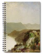View Of Cozzen's Hotel Near West Point Ny Spiral Notebook