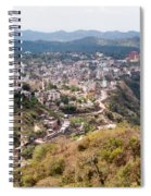 View Of Katra Township While On The Pilgrimage To The Vaishno Devi Shrine In Kashmir In India Spiral Notebook
