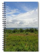 View Of Maine Bay Spiral Notebook