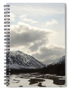View Of Quill Creek In Kluane National Spiral Notebook