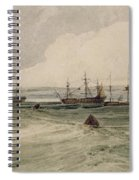 View Of Sheerness Spiral Notebook