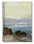View Of Sydney Harbour Spiral Notebook