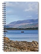 View Of The Isle Of Arran Spiral Notebook
