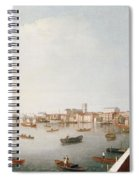 View Of The River Thames From The Adelphi Terrace  Spiral Notebook