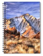 View Of The Sierras Spiral Notebook