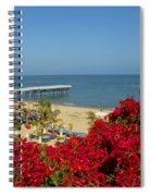 View Over Paradise Spiral Notebook