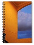 View Through A Stairwell Spiral Notebook