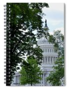 View Through Trees Spiral Notebook
