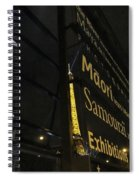 View To The Eiffel Tower Spiral Notebook
