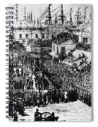 Vigilante Lynching, 1856 Spiral Notebook