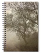 Vigilants Trees In The Misty Road Spiral Notebook