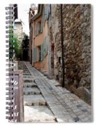Village Alley Spiral Notebook