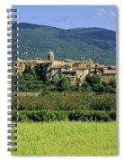 Village Of Lourmarin. Luberon. Vaucluse Spiral Notebook