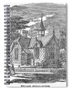 Village Schoolhouse, C1840 Spiral Notebook