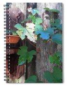 Vine And Feeder Spiral Notebook