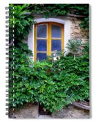 Vine Covered Stone House Spiral Notebook