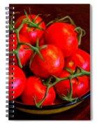Vine Ripened Spiral Notebook