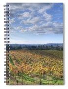 Vines In Fields Spiral Notebook