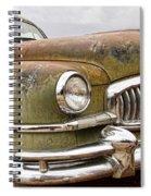 Vintage 1951 Nash Ambassador Front End Spiral Notebook