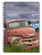 Vintage Auto Junk Yard Spiral Notebook